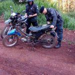 La Policía secuestró dos motocicletas e investiga la procedencia