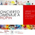 La Colectividad Polaca de Oberá invita a un nuevo concierto en homenaje a Chopin