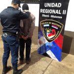 Nuevamente cayó un sujeto acusado de atacar a mujeres en  un barrio de Oberá