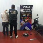 Detienen al presunto autor del robo de una motocicleta en Oberá