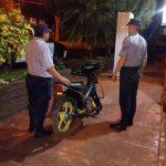 Recuperan en Guaraní una motocicleta robada en Oberá
