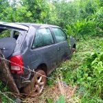 Despiste en la ruta 103 dejó como saldo un automovilista lesionado