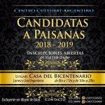El Centro Cultural Argentino busca a sus nuevas Paisanas