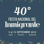 """Convocatoria Concurso Abierto: """"Identidad visual para la XL Edición de la Fiesta Nacional del Inmigrante"""""""