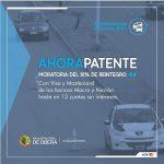 """El programa """"Ahora Patente"""" ofrece importantes beneficios"""