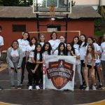 La escuela de básquet femenino viajó rumbo a Brasil
