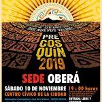 Están abiertas las inscripciones al Pre Cosquín 2018 -2019