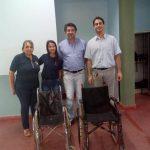 Estudiantes de la EPET N° 3 restauran elementos ortopédicos