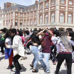 Regresaron los jóvenes que fueron a Mar del Plata a los Juegos Culturales Evita