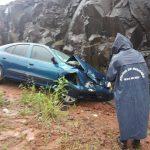 Obereño se despistó en Ruta Provincial 8
