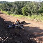 Colisión frontal entre dos motocicletas dejó como saldo tres personas hospitalizadas