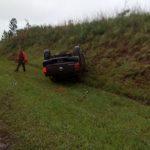 Despiste en la ruta 14 dejó solamente daños materiales