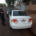 Recuperan un automóvil robado y buscan al autor en Oberá