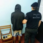 La Policía detuvo a un presunto arrebatador de celulares en Oberá