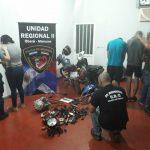 Tras una minuciosa investigación detienen a sospechosos por robos de motos en Oberá