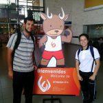 Martina Prieto en el Sudamericano Escolar de atletismo
