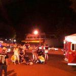 Siniestro vial dejó como saldo cuatro lesionados en Oberá