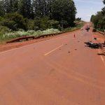Un hombre fue hospitalizado tras una colisión en la ruta 5