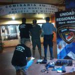 La Policia recuperó elementos robados y detuvo al presunto autor en Oberá
