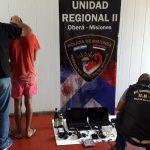 Investigación: demoran a un adolescente y recuperan objetos robados en Oberá
