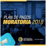 Hasta esteviernes estrá vigente la prórroga de la Moratoria Municipal