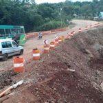 Nuevo puente sobre el Mbotaby