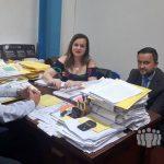 El juez de Falta recibió a la Defensoría del Pueblo