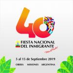 Nueva identidad visual para la XL Edición de la Fiesta Nacional del Inmigrante