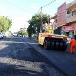 Repavimentación en calle Córdoba