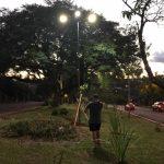 Instalación de luminarias led