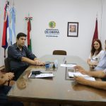 Reunión con Bomberos Voluntarios
