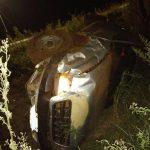 Despiste de una camioneta dejó dos lesionados en Mártires