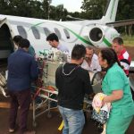 El Aeroclub Oberá recibió vuelo sanitario