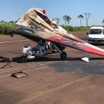 Oberá: un avión tuvo problemas en el aterrizaje