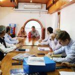 Reunión para la compra de tierras para el Parque Industrial