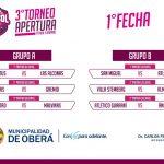 Arranca un nuevo torneo de fútbol interbarrial femenino