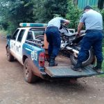 Recuperan en Oberá una motocicleta robada en Villa Bonita