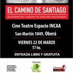"""El viernes proyección """"El camino de Santiago"""""""