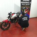 Investigación: recuperan una motocicleta robada el año pasado en Oberá