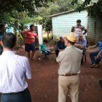Autoridades de la CELO se reunieron con vecinos del barro Caballeriza