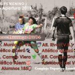 Femenino- Atlético Alem será local en la 3ra fecha