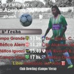 Femenino: Las damas tendrán fútbol en Campo Viera