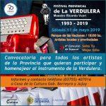 Convocatoria a participar del Festival de la Verdulera
