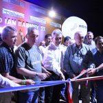 Inauguración del nuevo polideportivo municipal