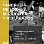 Vía Crucis Viviente de Migrantes y Refugiados de las Colectividades, y Misa Bendición de Ramos