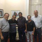 Autoridades de la CELO se reunieron con el Vicegobernador provincial