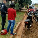 La Policía recuperó una motocicleta robada y detuvo al presunto autor del ilícito