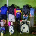 La Policía detuvo a  8 jóvenes por ocasionar disturbios en Alberdi
