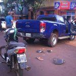 Dos hombres y un niño terminaron con lesiones en  siniestros viales registrados en Oberá
