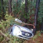 Despiste en la ruta 14 dejó como saldo daños materiales